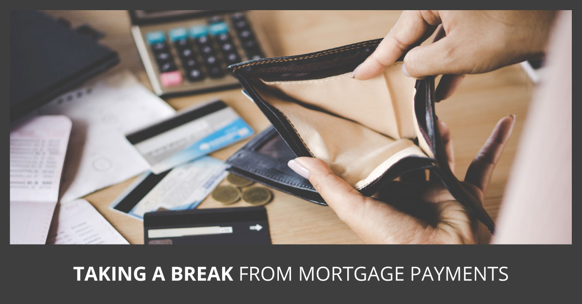 Are you eligible for a mortgage vacation?