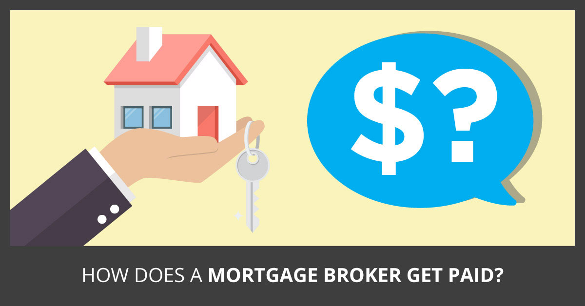 How does a mortgage broker get paid?